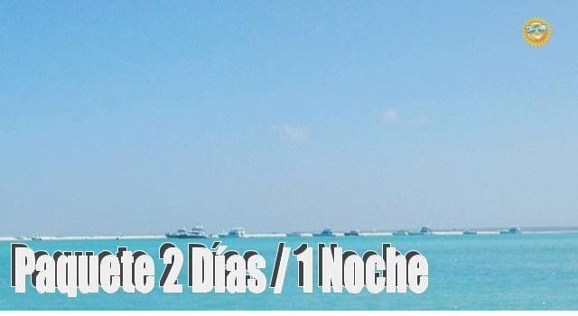 Paquete de 2 días y 1 noche en la Isla de la Tortuga