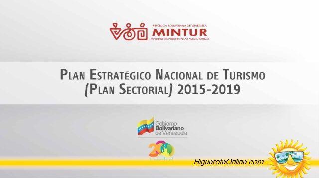 Plan Estratégico Nacional de Turismo (2015-2019) Infografía