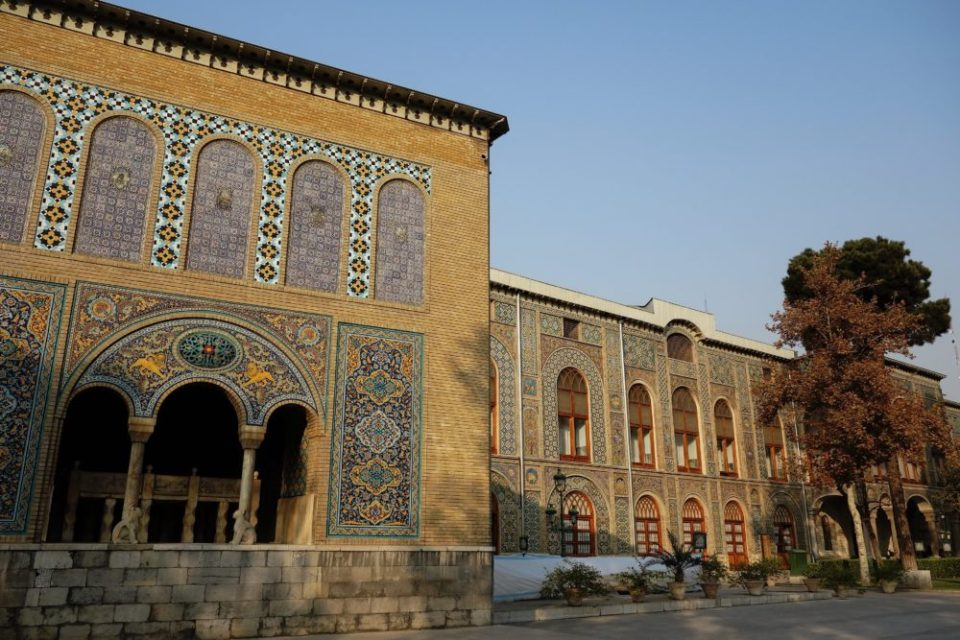 The Golestan Palace - one of the places where the Shah used to live before the revolution.