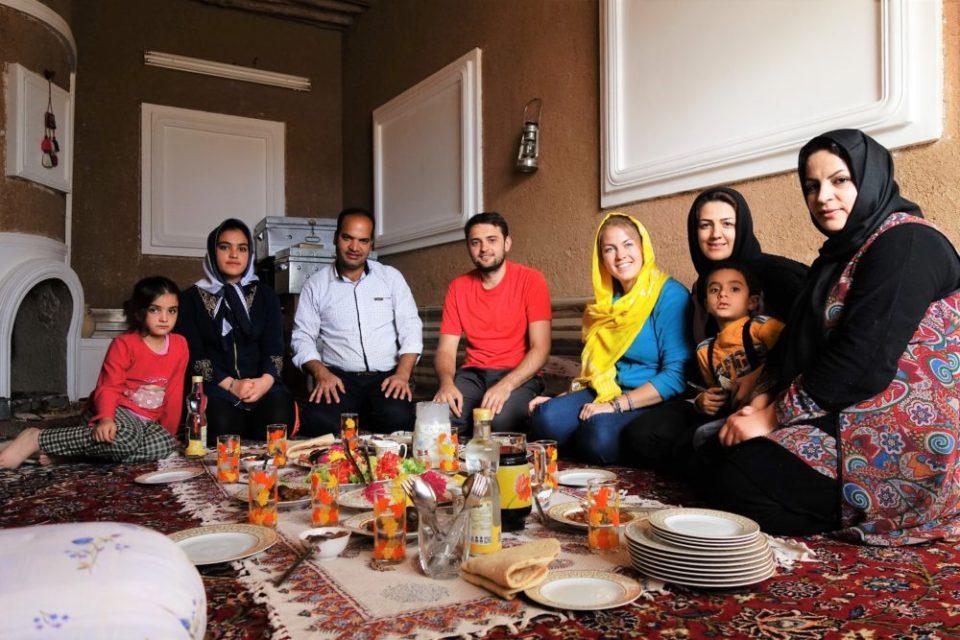 dookoła świata: domowy obiad w Iranie