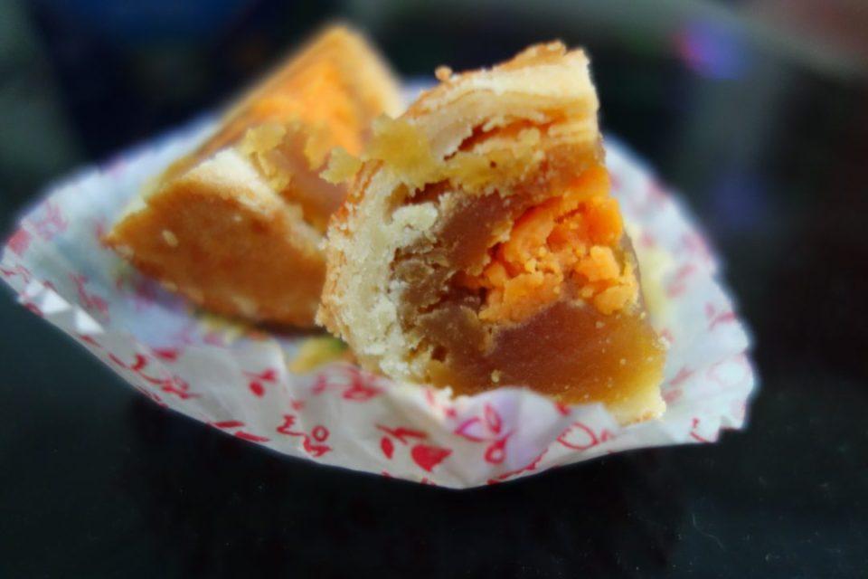 słodycze świata - ciastko z solonym żółtkiem