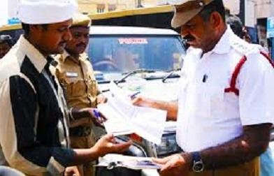 essay On Traffic police in hindi