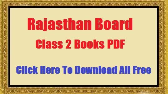 RBSE Class 2 Books Rajasthan Board