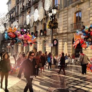 Vuoden 2014 viimeinen päivä Granadassa.