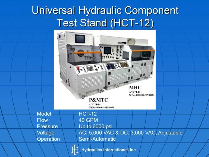 Hydraulic Test Equipment : Aircraft pumps motors hydraulic test equipment