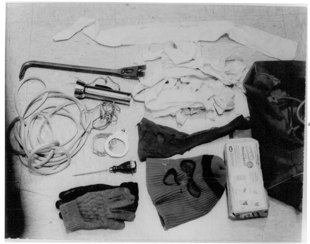 Bundy murder kit evidence Bagans