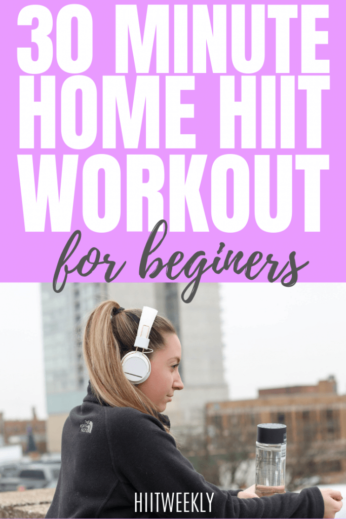 if you are new to HIIT then this is a great beginners workout to start with. This at home workout can be done in under 30 minutes with absolutely no equipment.