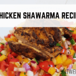 A delicious middle eastern Chicken Shawarma recipe that you just have to try. Perfect on a hot summers day with an Israeli salad.