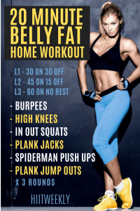 If you want to lose belly fat bast then this is the number one home workout to shred weight fast that you can do at home without any equipment in under 20 minutes. This belly fat workout has been designed all abilities.