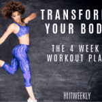 Transform your body in just 4 weeks with our at home 4 week workout plan designed for complete beginners.