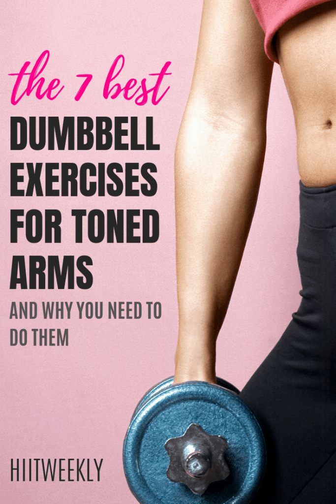 here we check out the 7 best arm exercises with dumbbells to get sexy toned arms. tonedarms #armworkout # dumbbellexercises