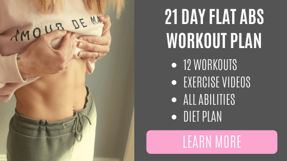 21 day ab workout plan Demi HIIT weekly