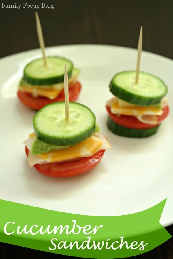 Recipe For Cucumber Sandwiches (Gluten-Free)