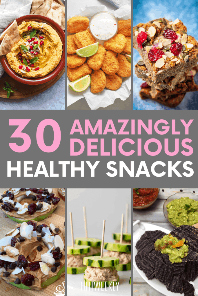 Find your perfectly healthy snack within our list of 30 healthy snack recipe ideas to keep you inspired and eating healthy.