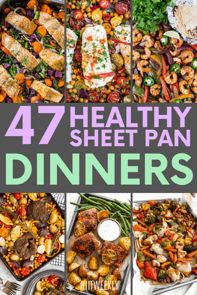 If you like to eat healthily and hate cleaning up then you will love these healthy sheet pan dinner recipes we have found for you. Try these one-pan dinner recipes today to up your healthy eating game.