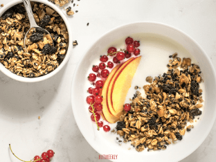 Health granola recipe thats gluten-free and vegan.