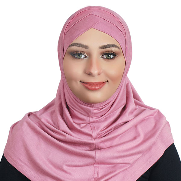 Turban Style Soft & Knitted Cotton Hijab