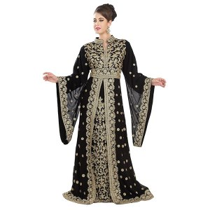 TRADITIONAL KAFTAN DESIGNER KHALEEJI THOBE DRESS