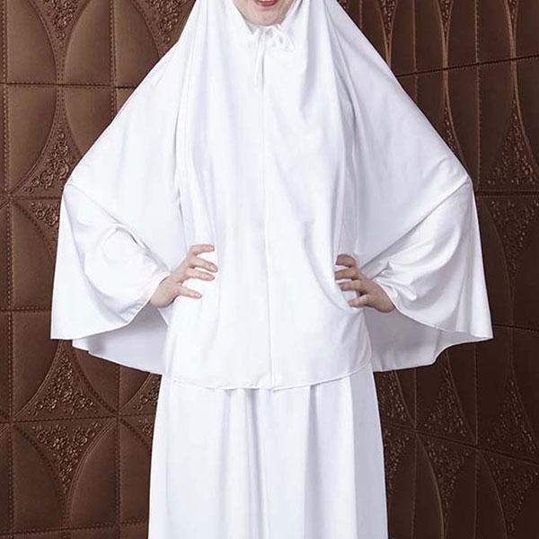 Everyday 2pcs Skirt & Hijab Set - White