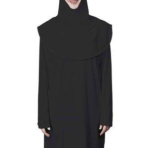 Abaya and Hijab Set - Black