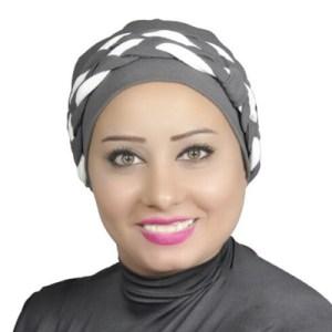 Women Turban Two-Tone Double Braid Turban Cotton Spandex Blend – Dark-grey