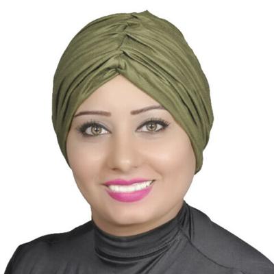 Cotton Under scarf Cap NEW Hijab Shayla Muslim – Olive-green