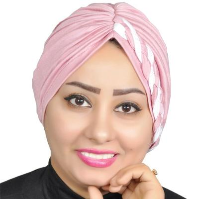 Turban, Full Turban, Headband, Hat, Stretch Fashion, Head Wrap Hair Loss Hat – Pink