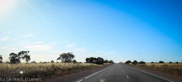 Open road, SA