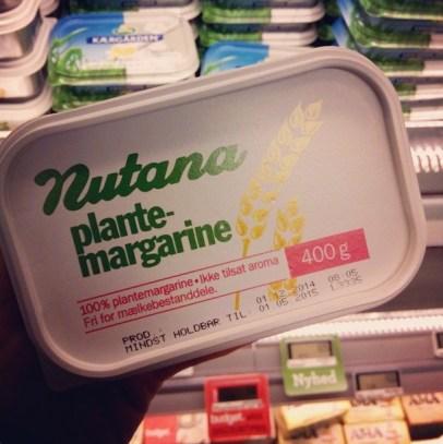 Nutana plantemargarine - forside ♡