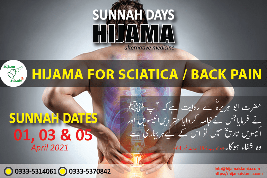 Sunnah Days for Hijama April 2021