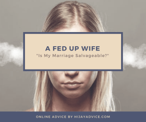 a fed up wife