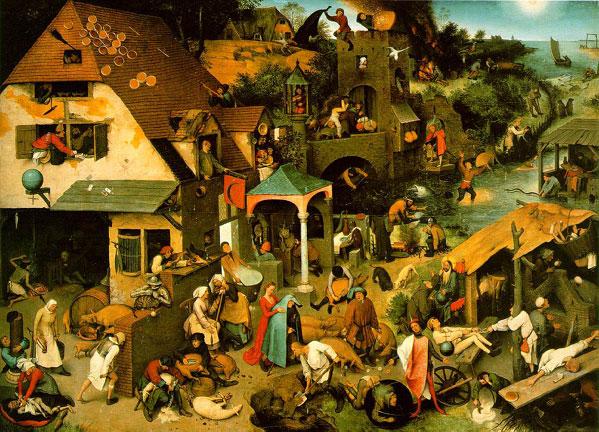 Bruegel - Los Proverbios Holandeses  (1/4)