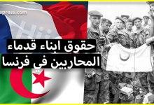 Photo of حقوق ابناء قدماء المحاربين الجزائريين في الجيش الفرنسي