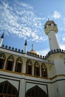 masjid sultan dari luar
