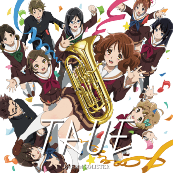 Hibike! Euphonium OP Single - DREAM SOLISTER [FLAC +Scans]