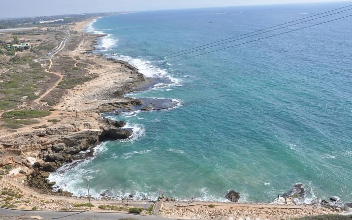 View south from Rosh Hanikra