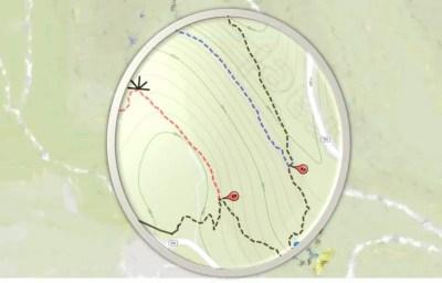 Wadi Ktalav Hiking Map