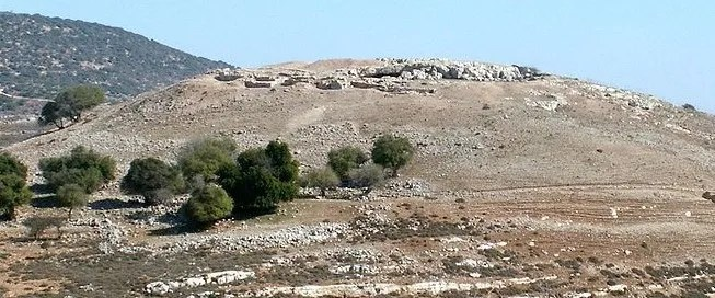 The ruins of ancient Yodfat