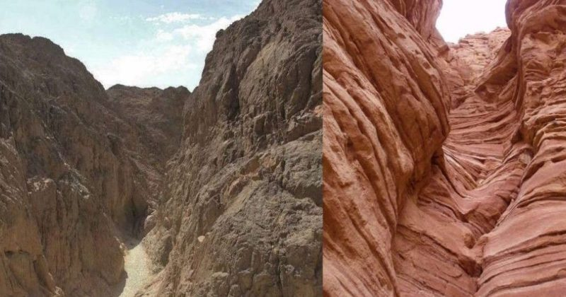 The balck canyon and the lost gorge