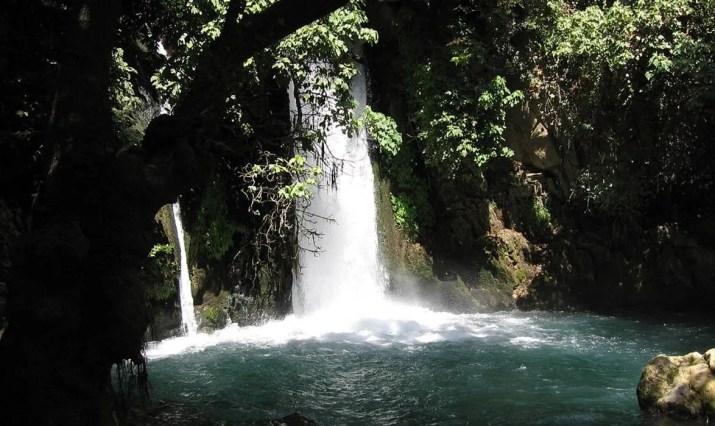 The Banyas Waterfall, Hermon Natural reserve