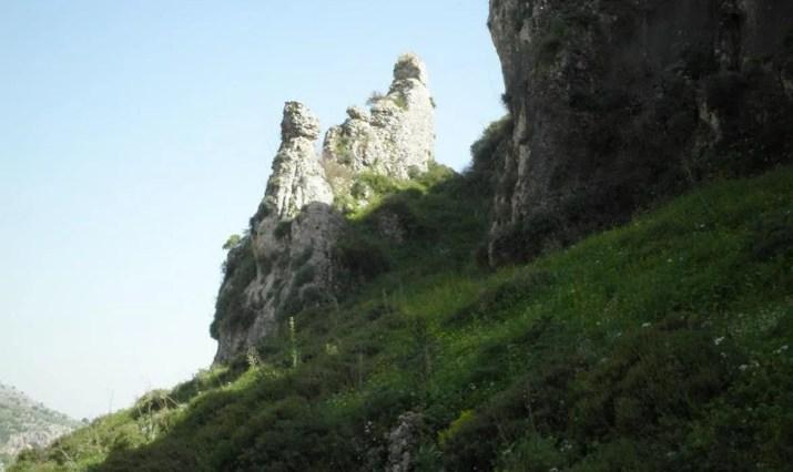 A Pilar in Wadi Dishon