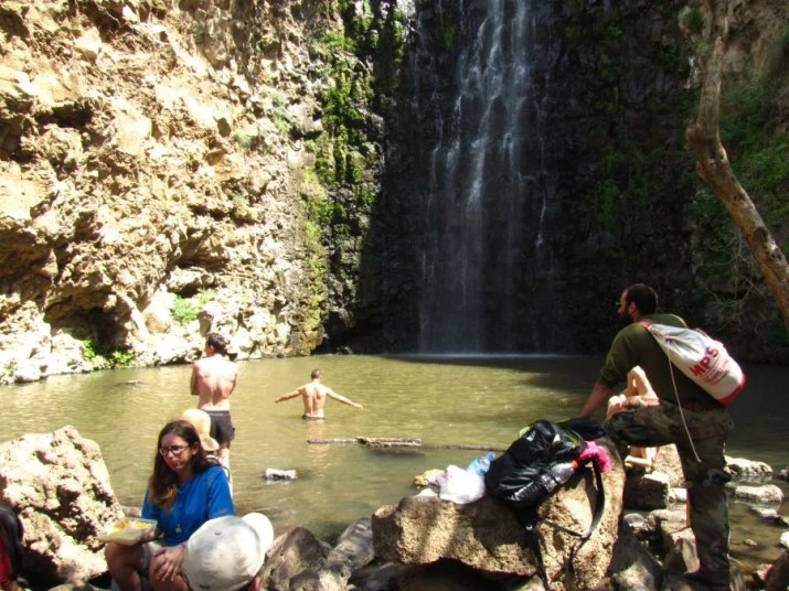Waterfall in the Golan