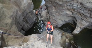 The Black Canyon (Hanakik Hashachor) - Canyoning in Israel