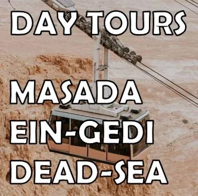 Masada day tours and hikes
