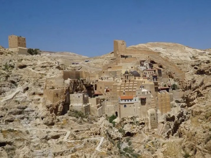 Mar Saba monastery in the Judean desert