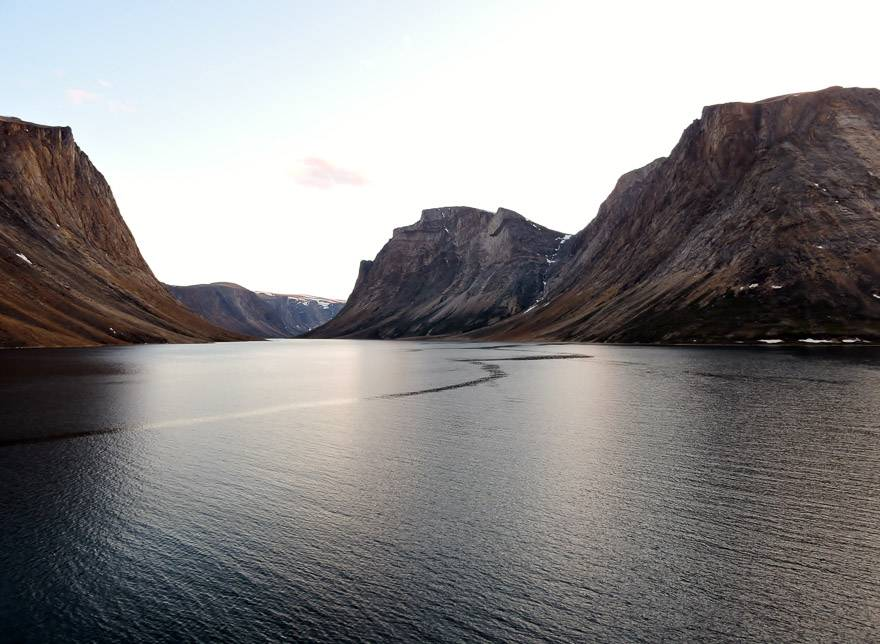 The ruggedly beautiful fjords of Torngat Mountains National Park. Photo credit: Marlis Butcher