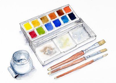 Watercolour kit