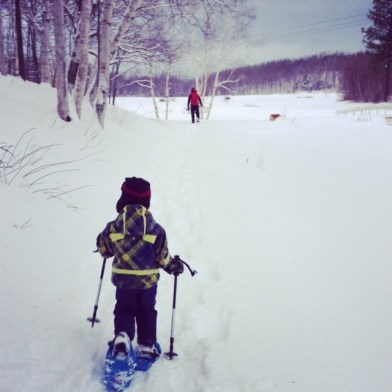 Snowshoeing - December 28, 2013