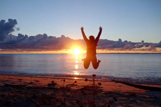 Sunrise on North Manitou Island, MI