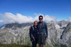 Summit Schneibstein Mtn, Austria